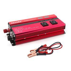Image 3 - 5000W Solar Power Inverter Sine Wave LED 4 USB DC12V To AC110V/220V Convert