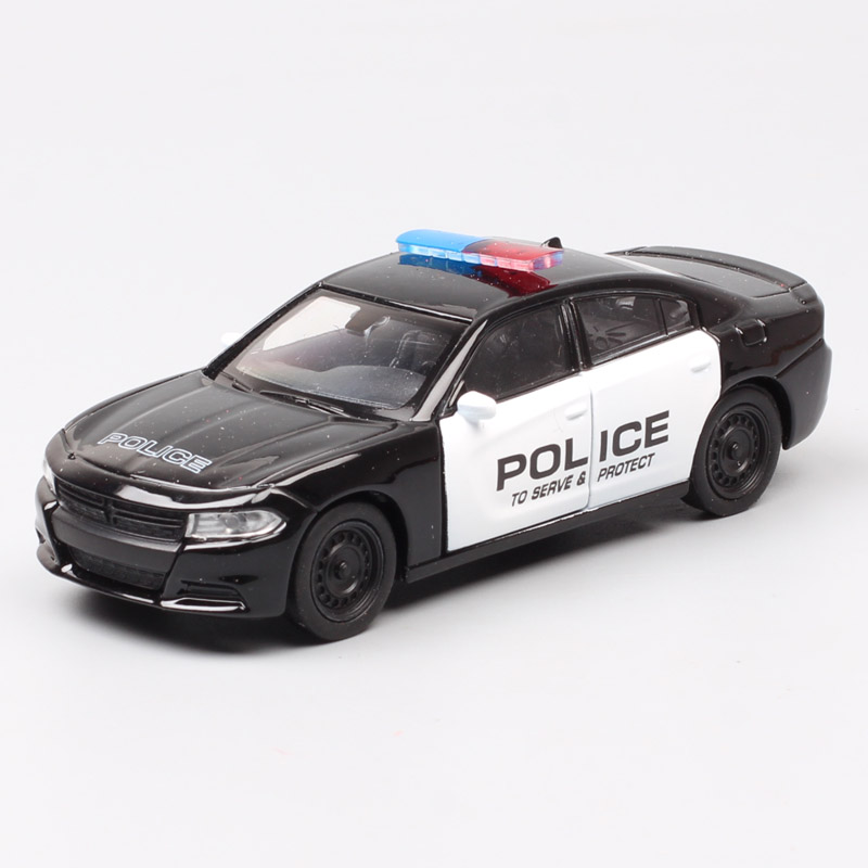 1:36 Small Welly Scale 2016 Dodge Charger R/T Vehicle Metal Diecast Pull Back Muscle Car Police Model Toy Replicas For Baby Boys