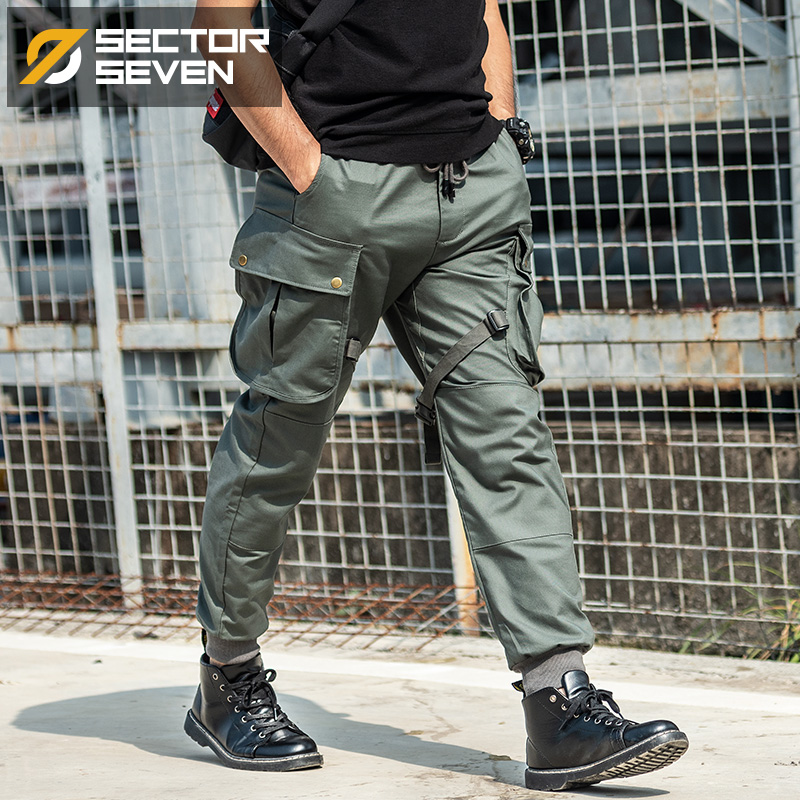 2020 New IX13 tactical pants men's Cargo casual Pants Combat SWAT Army active Military work Cotton male Trousers mens