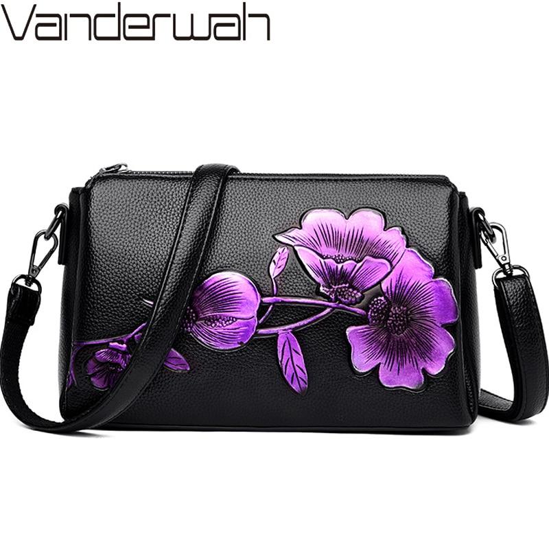 3 Main Bag Winter New Lucky Flower Luxury Handbags Women Bags Designer Ladies Crossbody Shoulder Hand Bags For Women Sac A Main
