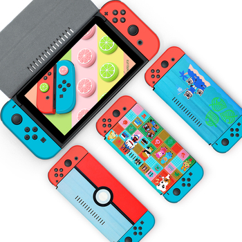 PU Leather Protective Case for Nintendo Switch Stand Cover Flip Stand NS Console Screen Protect Case Cover