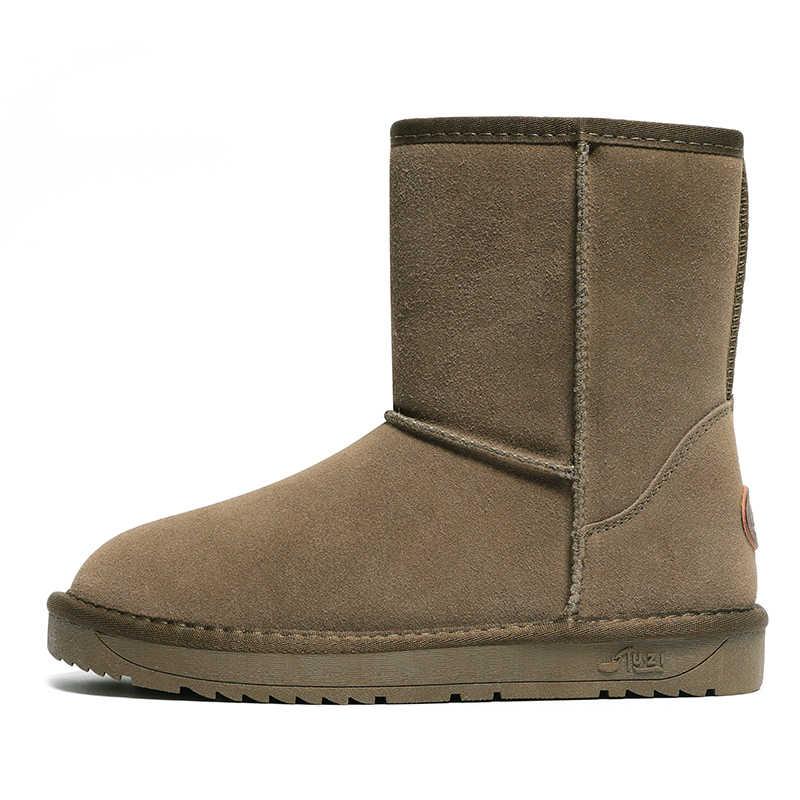 2020 yeni sıcak hakiki deri kürk kar botları kadınlar en yüksek kalite çizmeler kış çizmeler sıcak Botas Mujer dropshipping