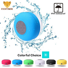 цена на Bluetooth Shower Speaker Waterproof Portable Mini Wireless Speaker with suction cup and built-in microphone handsfree phone call