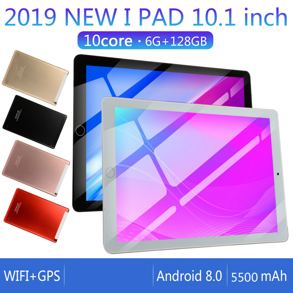 2020 2.5 D Screen Metal 10 Inch Android 8.0 Tablet PC 10 Core  6GB+128G WiFi Bluetooth GPS