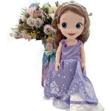 Disney Princess Sofia Doll 30cm Movable girl doll PVC action figures Collectible model doll toys Surprise gift for children недорого