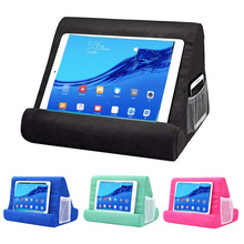 Multi-Angle Soft Pillow Pad Pillow Lap Stand for iPads,Smartphones,Tabl
