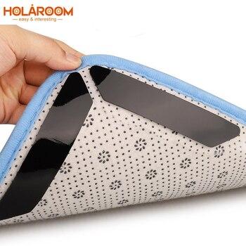8 Uds pinzas para alfombras antideslizantes pinzas para alfombras mantiene la alfombra en su lugar hace esquinas planas pinzas antideslizantes lavado reutilizar