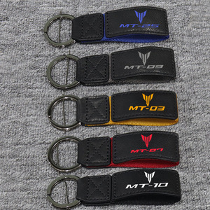 3D Key Holder Chain Collection Keychain For YAMAHA MT-07 MT-25 MT-09 MT-03 MT-10 MT10 03 09 07 Motorcycle Key Ring Key
