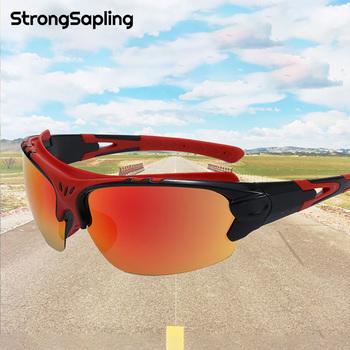 Okulary rowerowe górskie okulary motocyklowe okulary przeciwsłoneczne na rower męski rower okulary motocyklowe klasyczne sporty outdoorowe okulary przeciwsłoneczne okulary wędkarskie UV tanie i dobre opinie Strong Sapling NONE CN (pochodzenie) Cycling Sunglasses About 47mm YJ008 MULTI About 67mm Unisex Z poliwęglanu do jazdy na rowerze