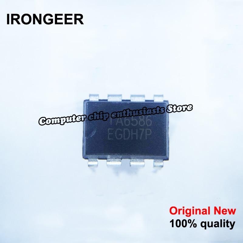 10pcs 100% New And Orginal TA6586 DIP-8 In Stock