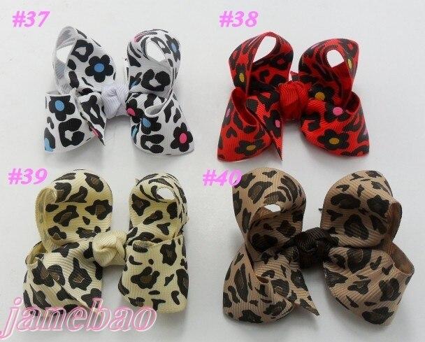 50 шт. Разноцветные 3 '', модный бутик, заколки для волос для девочек волос бантики, аксессуары для волос