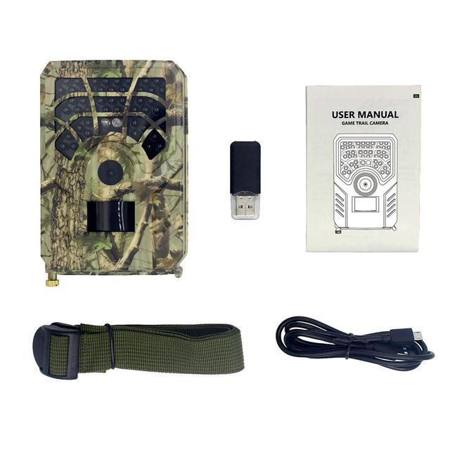 PR300A Trail Camera 720P 120 Degrees PIR Sensor Wide Angle Infrared Night Vision Wildlife Trail Thermal Imager Video Cam