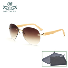 New Original Luxury Bamboo Sun Glasses Men Women Classic Wooden SunGlasses Brand Designer Fashion Frame Handmade