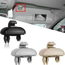1Set Visiera di Sun Clip Porpor Booya Interior Sun Visor Gancio Della Clip Della Staffa per Audi A1 A3 A4 A5 Q3 q5 (8E0 857 562) a7 B6 B7 B8 S4 S5