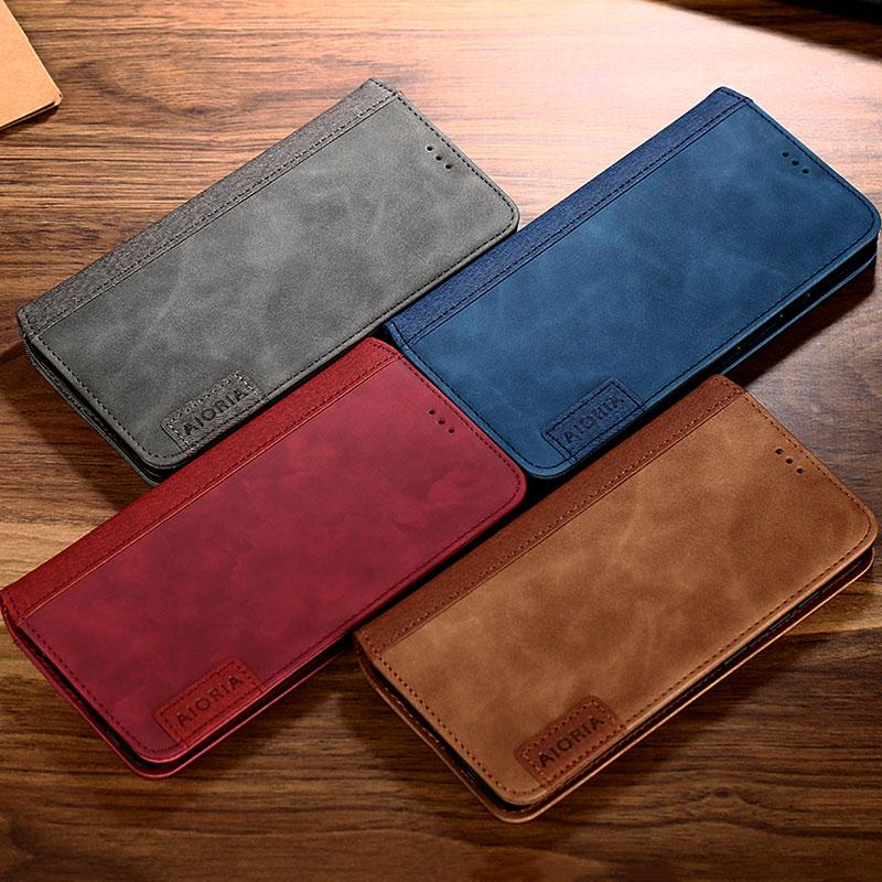 Caso para Xiaomi Redmi 9 9A 9C 8 8A 7 7A 6 6A 5 Plus 5A 4 4A 4X 3S S2 K30 K20 Nota 9 9s 8 7 6 5 pro 8T 5A prime Novo estojo de couro