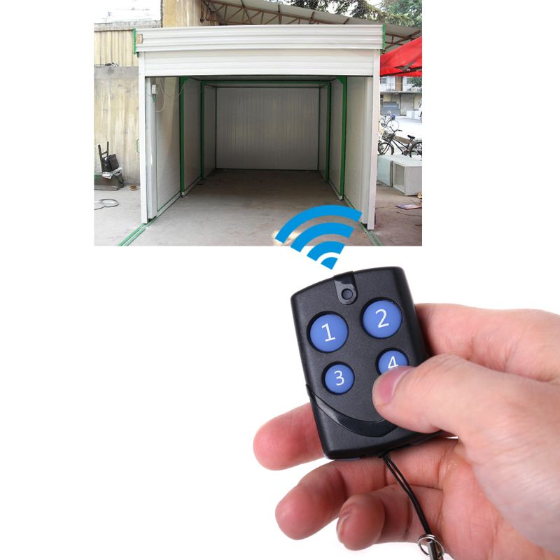Ultralight Wireless 315/433MHz Remote Control Copy Code Remote 4 Channel Electric Cloning Gate Garage Door Auto For Chipset