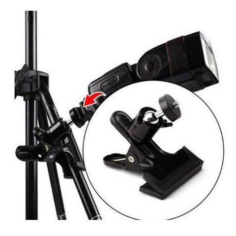 For Gopro camera ball heads strong clip flash clip bracket desktop bracket background board clip universalraphy Islamabad
