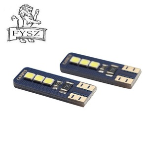 Image 2 - 2Pcs חדש T10 W5W LED 2825 באיכות גבוהה מכוניות נורות סופר מואר רכב קריאת כיפת אורות סמן אוטומטי מנורות טריז זנב צד נורות
