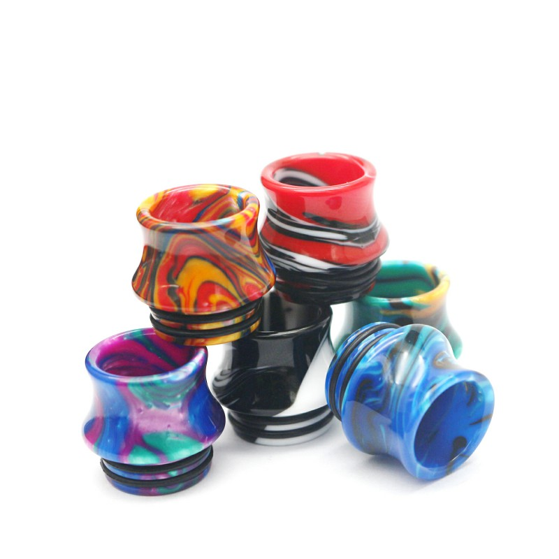 30PCS 810 Resin Vape Drip  Tips Mouthpiece For TFV8 Big Baby TFV12 Prince Sticke V8 E Cigarette Accessories Drip Tip