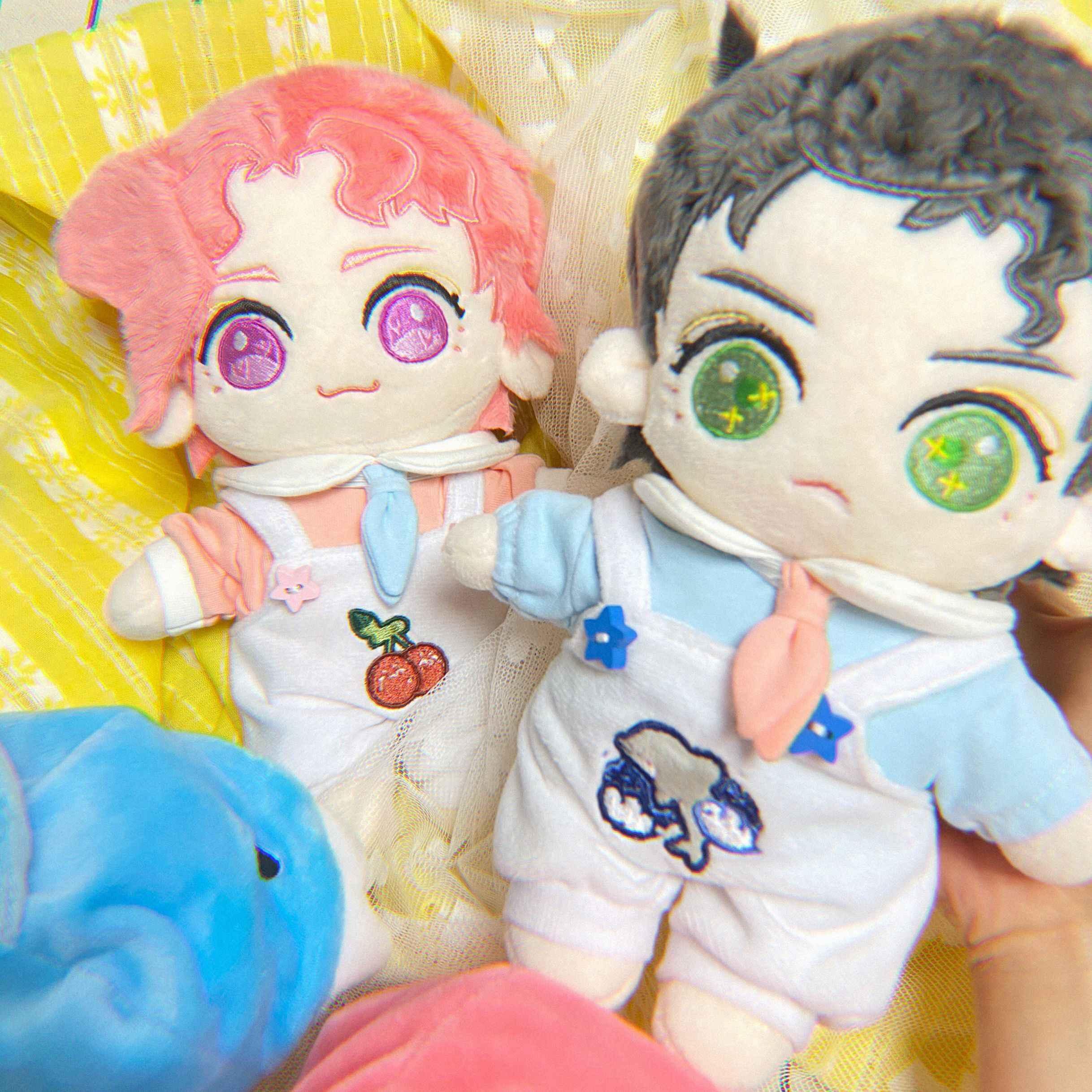JoJo/'s Bizarre Adventure Kujo Jotaro Cosplay DIY Change Plush Dolls Plushie 20cm