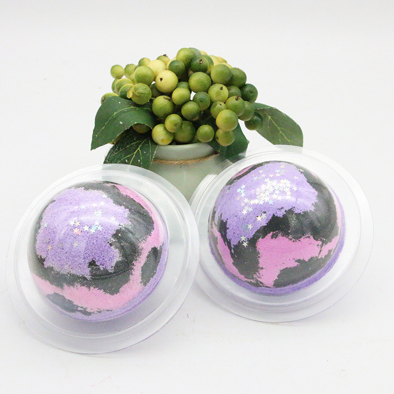 1pcs Deep Sea Bath Salt Body Essential Oil Bath Ball Natural Bubble Bombs Ball Flavors To Choose Dropship Supply