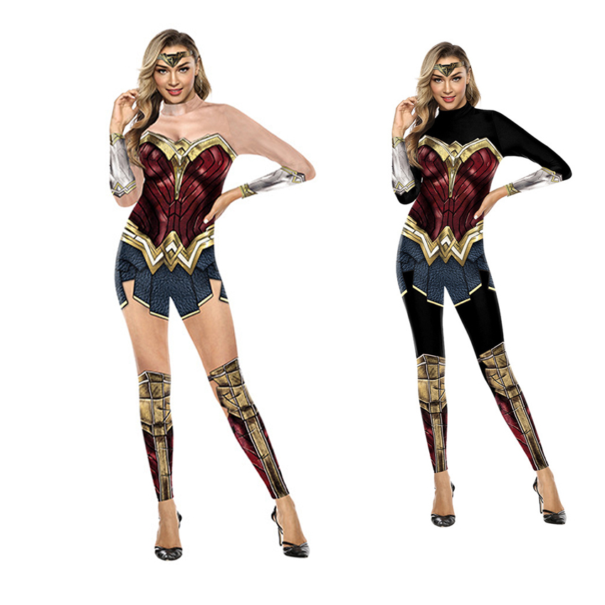 Wonder Woman Costumes Women Superhero Diana Costume Halloween Costume For Women Sexy Dress Diana Cosplay Carnival Disfraz Mujer
