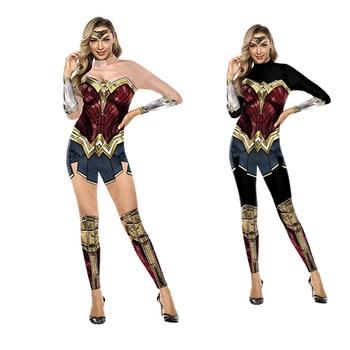 Wonder Woman Costumes Women Superhero Diana Costume Halloween Costume for Women Sexy Dress Diana Cosplay Carnival disfraz mujer цена 2017