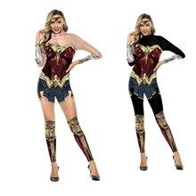 Женский костюм супергероя Дианы Wonder Woman, костюм для Хэллоуина, сексуальное платье, карнавальный костюм Дианы, disfraz mujer