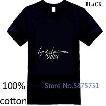 Camiseta de Yamamoto dos lados T camiseta de Hombre nueva talla eine Kühlen camiseta para Homens t shirt dos homens da Marca t-shirt