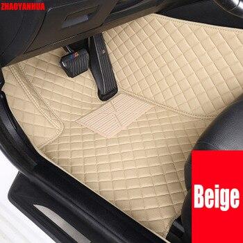 Custom fit car floor mats for Mercedes Benz A B180 C200 E260 CL CLA G GLK300 ML S400 class 6D car styling carpet floor liner