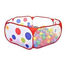 Новые игрушки палатка океан серии мультфильм игры мяч ямы портативный складной бассейн детей на открытом воздухе спортивные развивающие игрушки с корзиной
