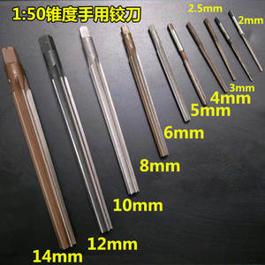 Hand-Reamer Taper-Shank Milling 20mm To 3mm 1pcs 1:50 Free-Delivery Precision 3/4/5-/..