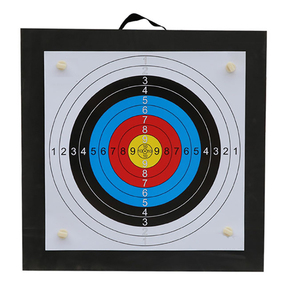 Image 1 - Archery Shooting Target Set 50 * 50 * 5cm EVA Foam Target With Target Papers Nails Outdoor Sports Hunting Archery Accessories