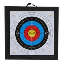 Boogschieten Schieten Doel Set 50*50*5 Cm Eva Foam Doel Met Doel Papers Nagels Outdoor Sport Jacht boogschieten Accessoires