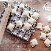Dumpling Mold Pie Pizza-Pastry Ravioli-Maker Cooking-Tool Fast-Press Kitchen DIY Silver
