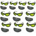 10 unids/lote IPL CE 200nm-200nm gafas de protección láser gafas de seguridad OD + 5 UV400 BP-6006