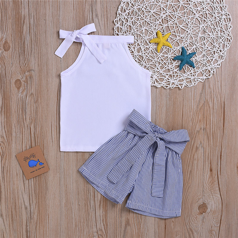 children clothes set kid girl summer outfit (7)