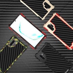 Image 2 - עמירה עמיד הלם היברידי עומס כבד מוקשח שריון מקרה Note10 S8 S9 S10 בתוספת S10 5G פחמן סיבי כיסוי