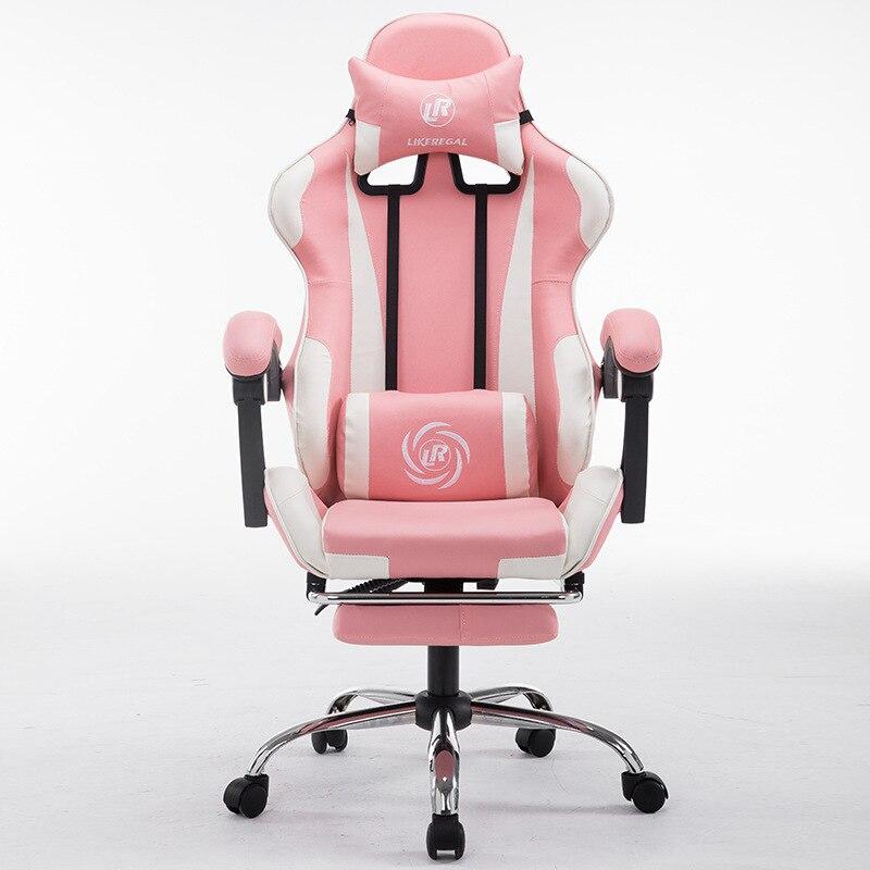 Maison ordinateur chaise jeu chaise athlétique chaise exécutive en forme d'arc chaise de jeu inclinable Internet cafés course voiture chaise