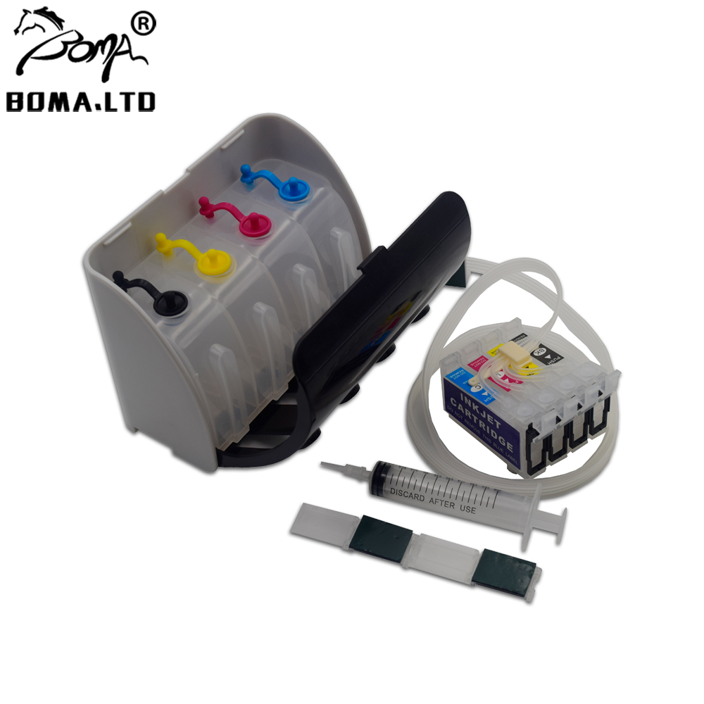 T3691-T3694 Without Chip Continuous Ink Supply System For EPSON Expression XP-332A XP-325A XP-235A XP332A XP235A 36XL