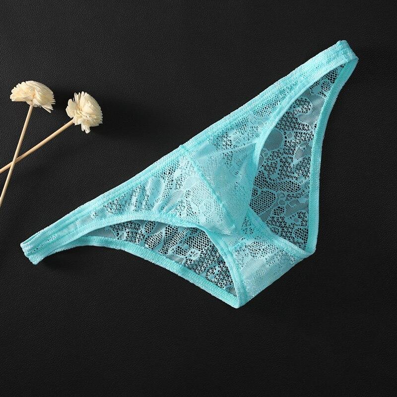 Сексуальные трусы с низкой талией, полупрозрачное бикини, шелк льда, дышащие, хорошо тянутся, мужские трусы, чистый цвет| |   | АлиЭкспресс
