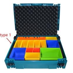 Makita P-83652 MacPak inserto con compartimentos coloreados caja herramientas maleta caso 821549-5 (tipo 1)