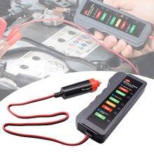 Автомобильный тестер аккумулятора цифровой мультиметр профессиональный