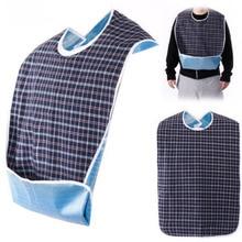 3pcs Adult Bib Washable Adult Eating Bib Cloth Protector Disability Aid Apron Waterproof Adult Bibs adult ish