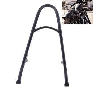 Black Short Sissy Bar Backrest For Sportster 1200 883 XL 04-16