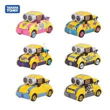 Tomy Alloy Car Model Lightning Universal Studios Little Yellow Man Despicable Me Alloy Car Model Cartoon Car Toy Children Gift