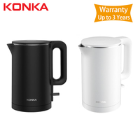 2019 New KONKA Electric kettle fast boiling stainless teapot samovar kitchen Water Kettle Mi home 1.8L Insulation