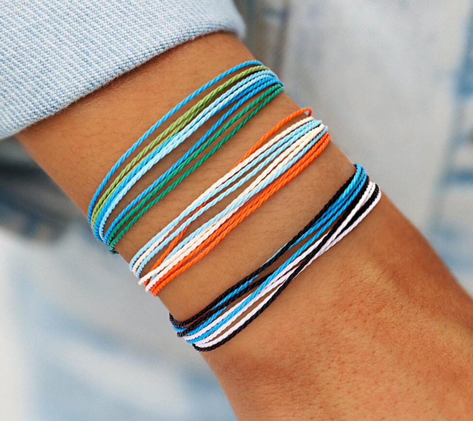 Bohemian Rope Braided Bracelet For Women Men Femme Woven Friendship Bracelet 2019 Vintage Charm Bracelets Fashion Jewelry