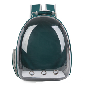 Image 5 - 2019 Beautiful Breathable Portable Pet Carrier Bag Outdoor Travel puppy cat bag Transparent Space Pet Backpack Capsule