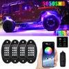 RGB Symphony Car Chassis Light 5050 Chip Lamp Bead Music Rhythm Light Good Heat Resistance Car Atmosphere Light